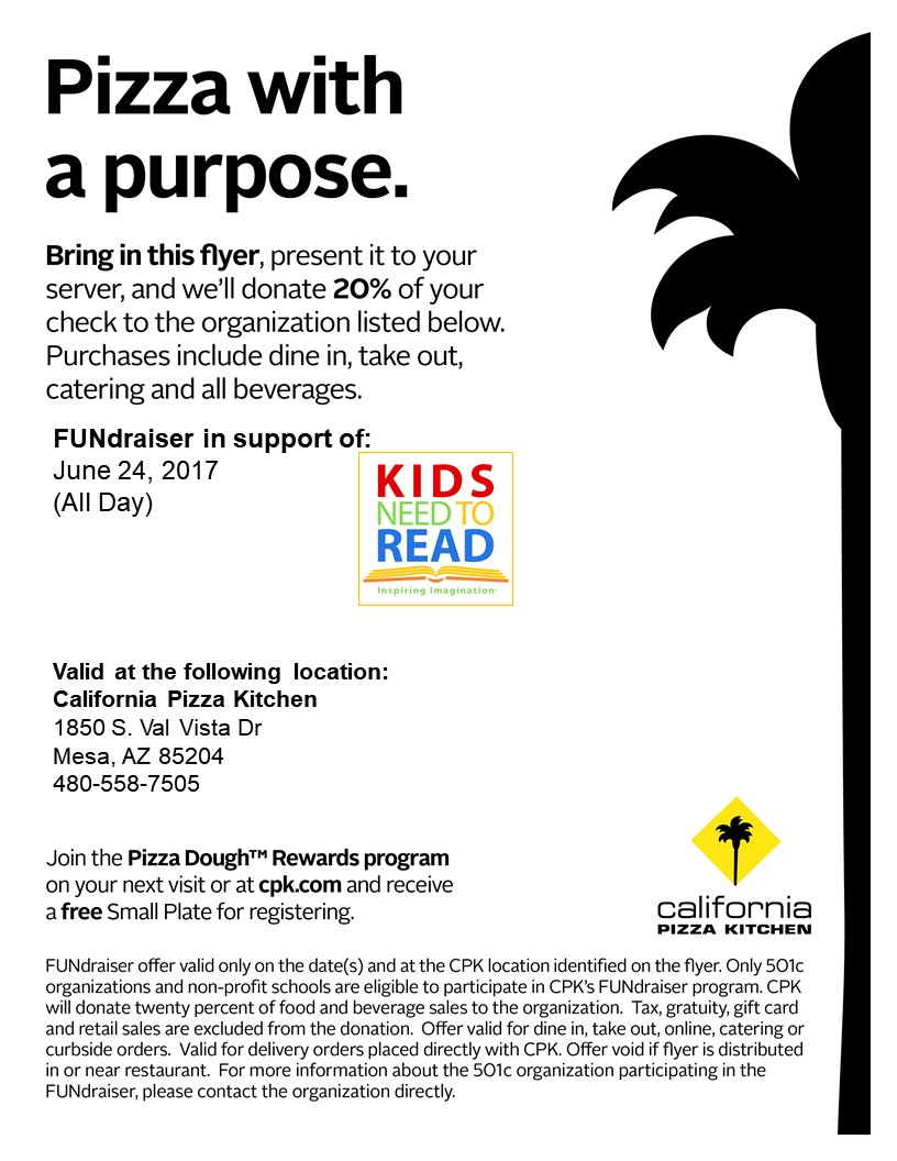 CPK and Kids Need to Read