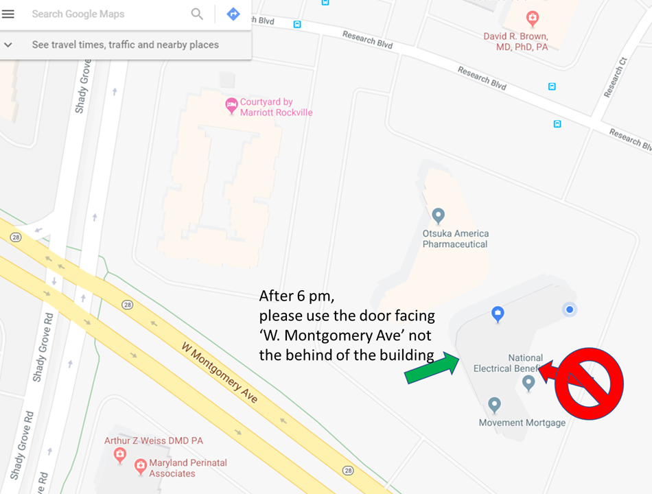 Event door location