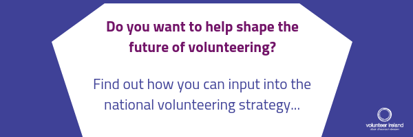 Help shape the future of volunteering in Ireland