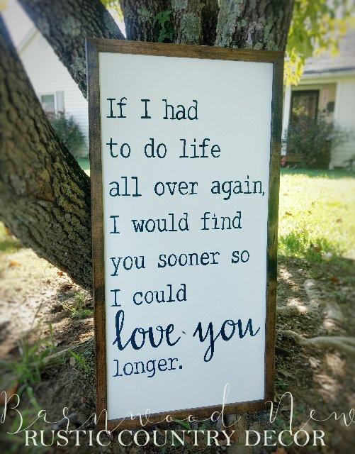 Met You Sooner/Love You Longer