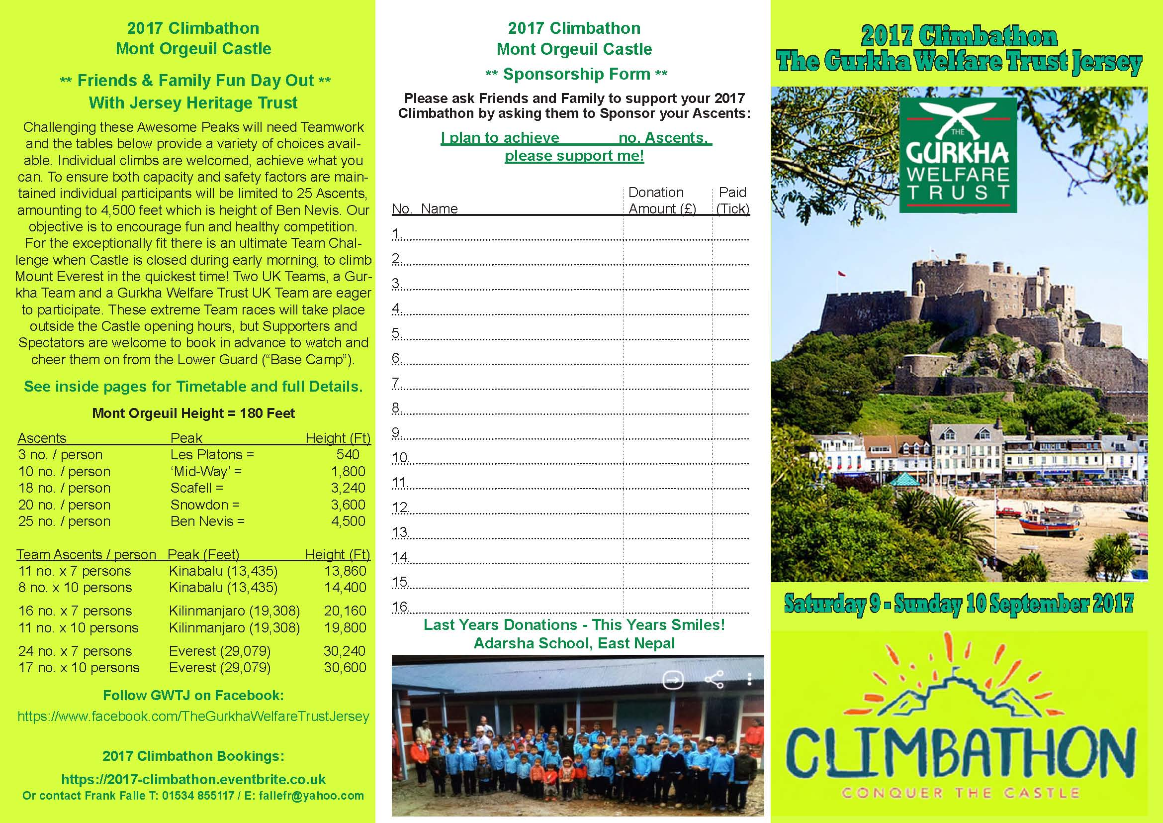 2017 Climbathon Flyer - Page 1