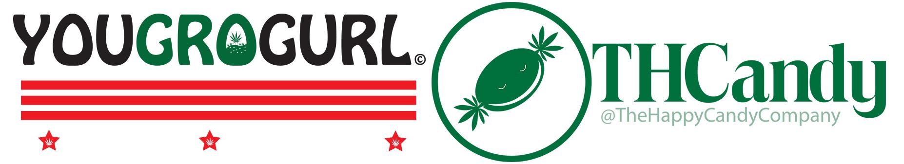 YouGroGurl Happy Candy Company Logo