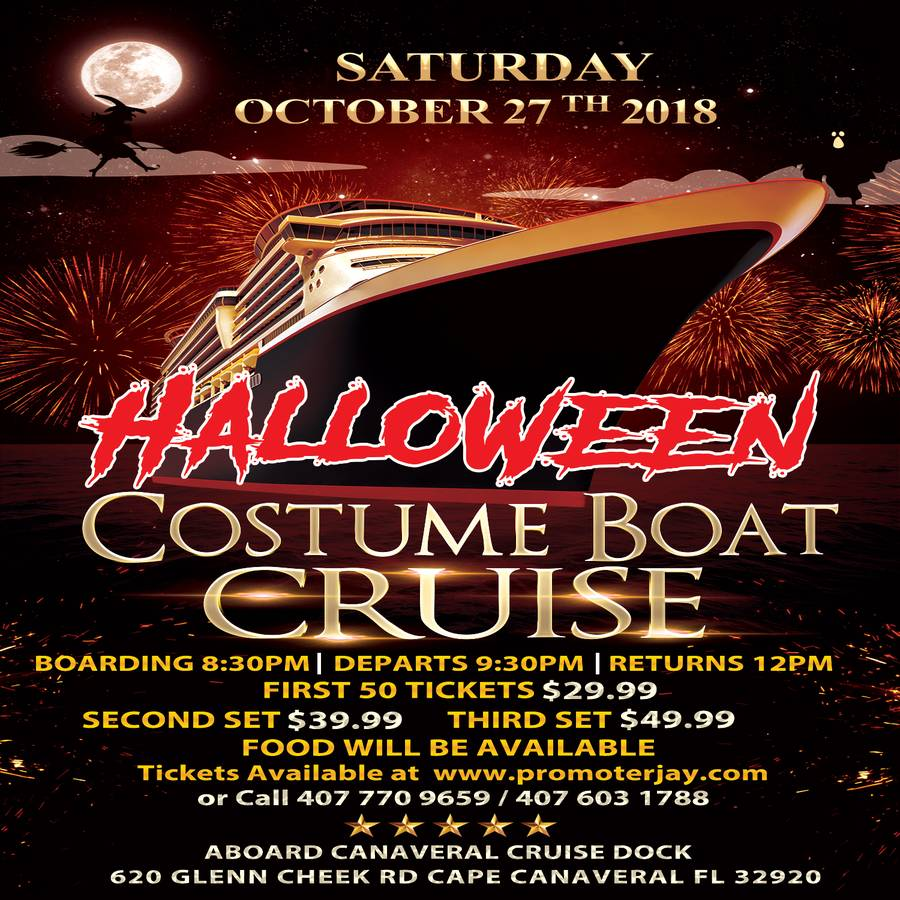 halloween costume boat cruise part 1 - dance party aboard canaveral