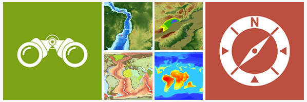 PaleoGIS collage