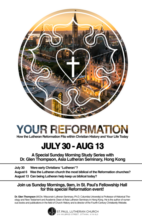 Reformation Bible Study
