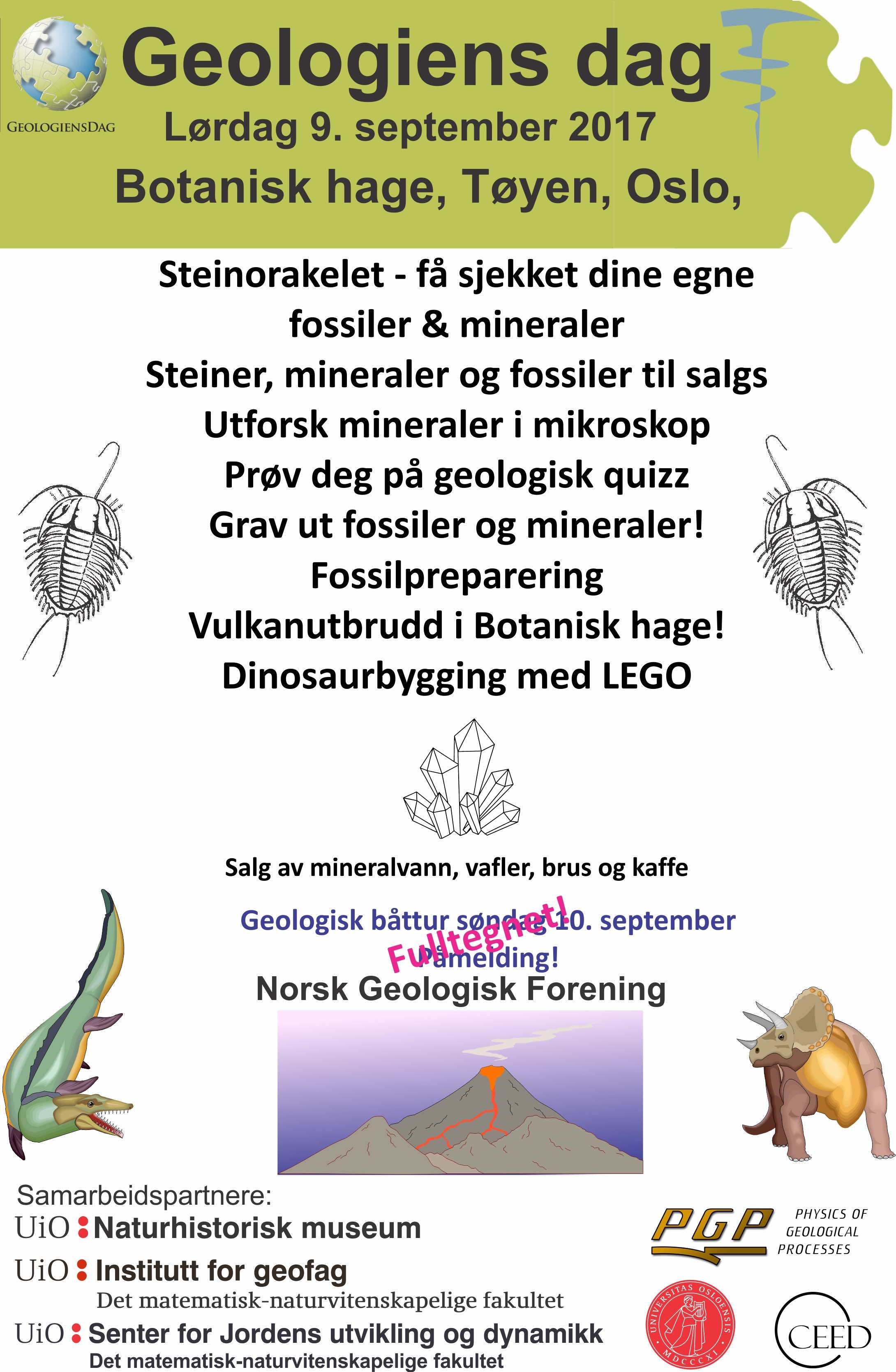 Geologiens Dag Program