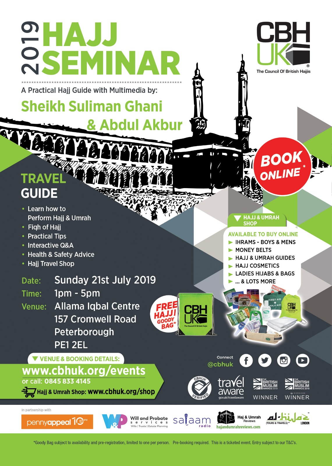 Peterborough Hajj Seminar 2019