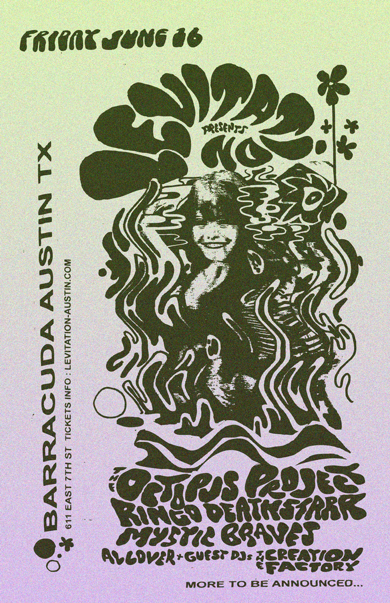 LEVITATION presents : OCTOPUS PROJECT and more JUNE 16 2017