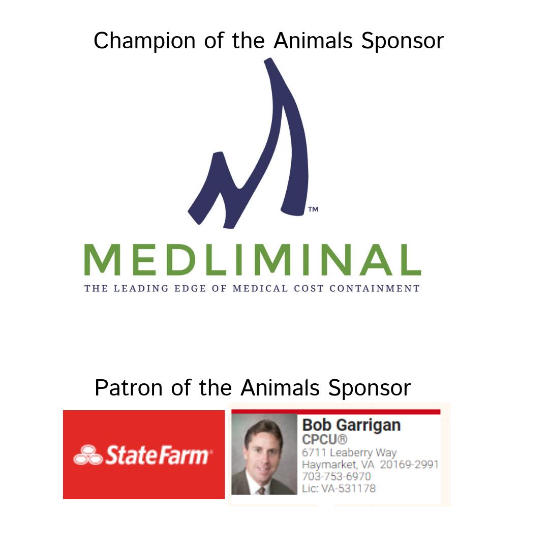 Sponsors Medliminal and State Farm