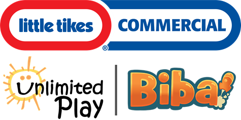 Little Tikes Commercial Unlimited Play Biba Logos