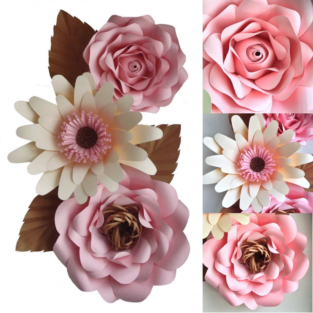 Flipside Bride Giant Paper Flowers