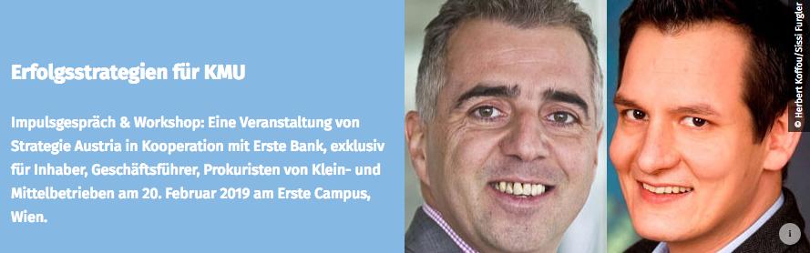 Albrecht Nussbaumer Workshop Strategie Austria