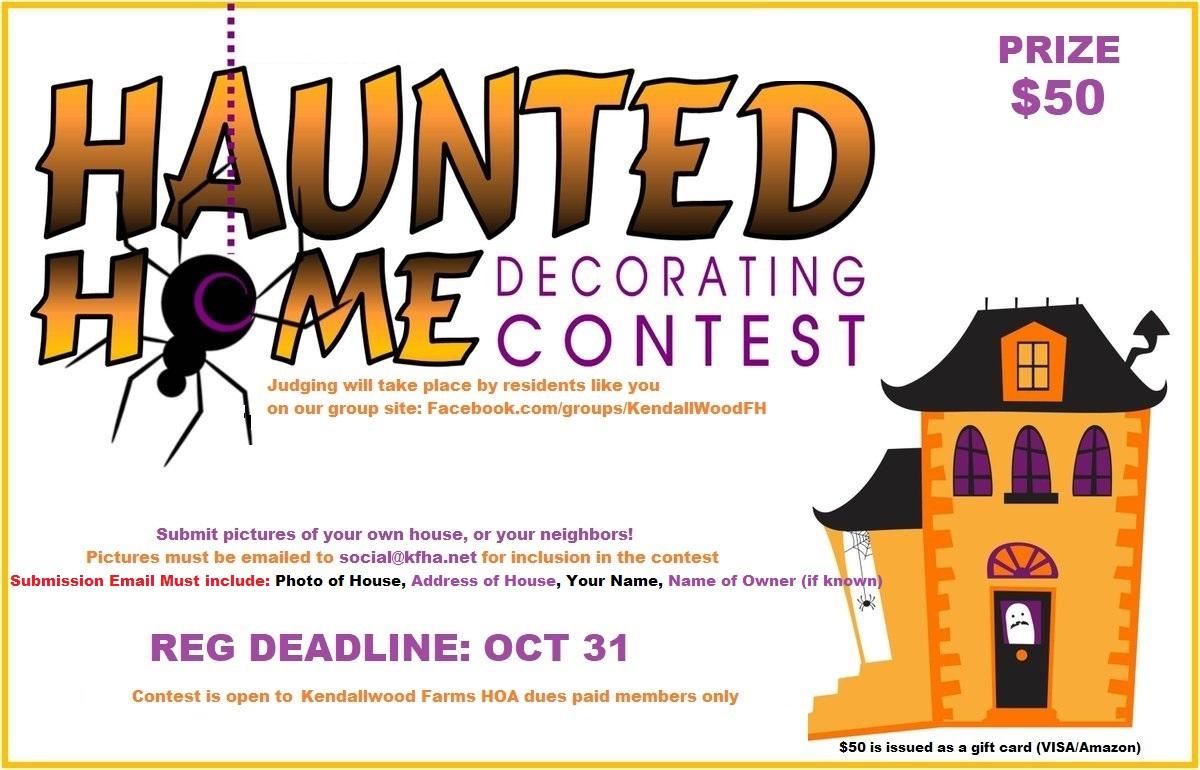 KFHA Halloween Contest