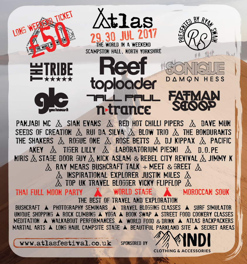 Atlas Festival Lineup