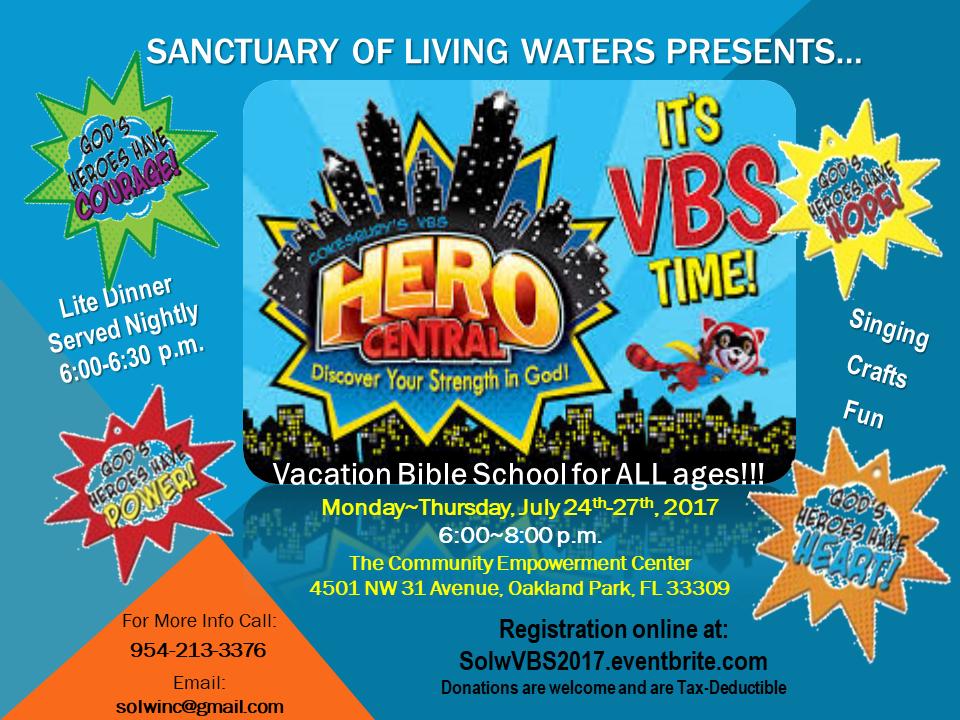 Solw vacation bible school tickets multiple dates for Vacation bible school crafts for adults