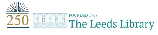 Leeds Library Logo
