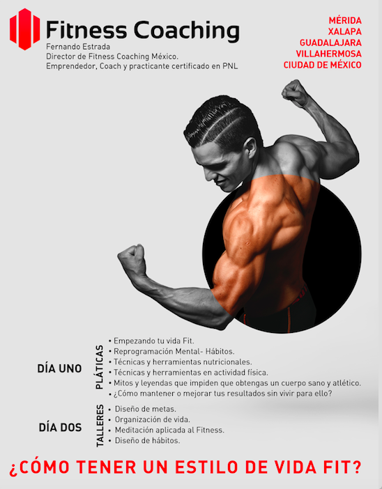 Poster Curso Vive Fitness