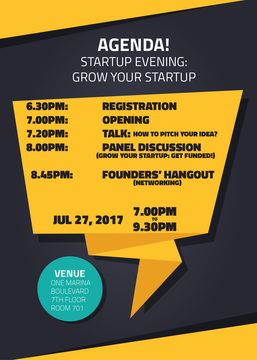 Fivbrain: Grow Your Startup: Get Funded! Agenda
