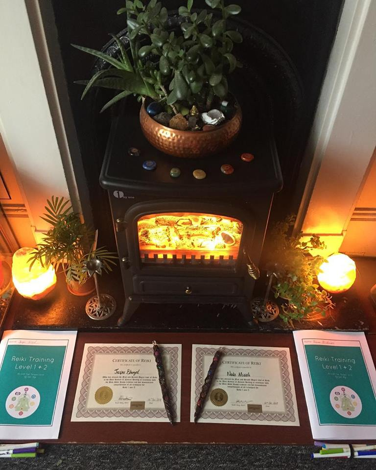 reiki brighton uk London training master teacher healing certificate cacao ceremony