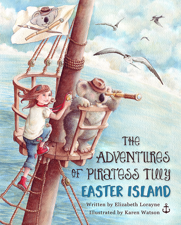 The Adventures of Piratess Tilly Easter Island
