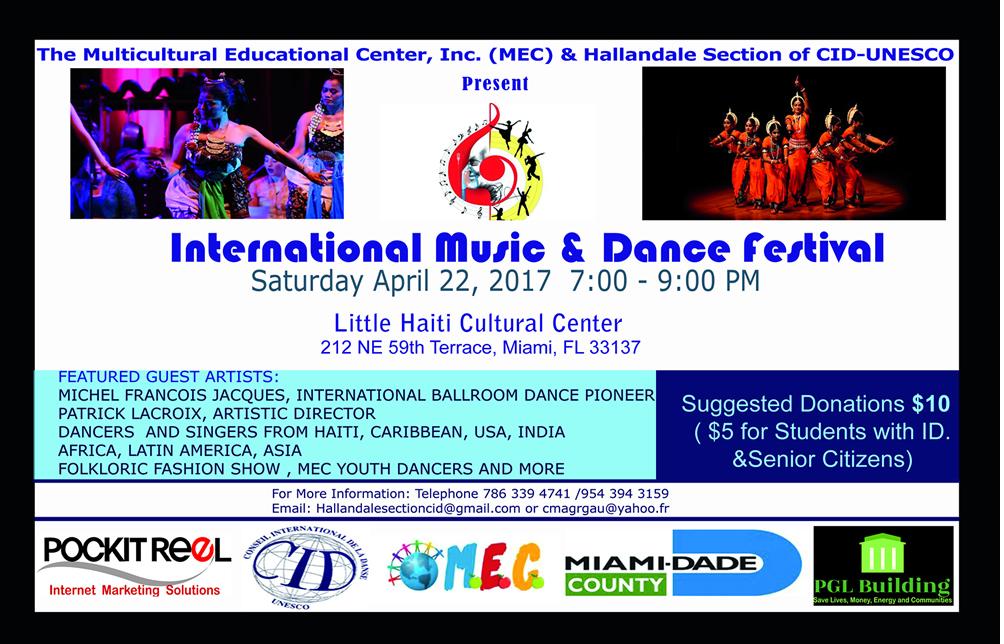 MEC CID event flyer