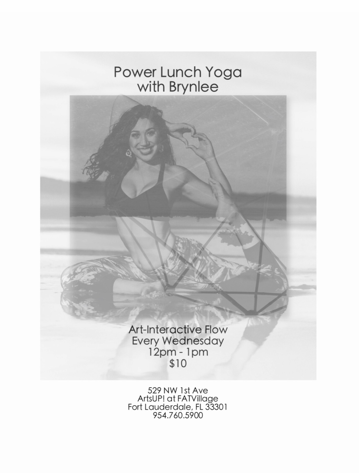 Power Lunch Yoga w/Brynlee at ArtsUP! in FATVillage