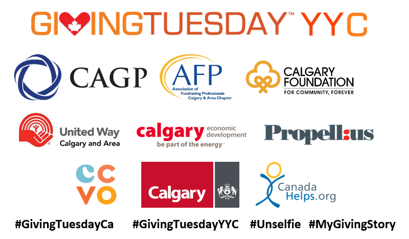 Full List of GivingTuesdayYYC 2018 Partners