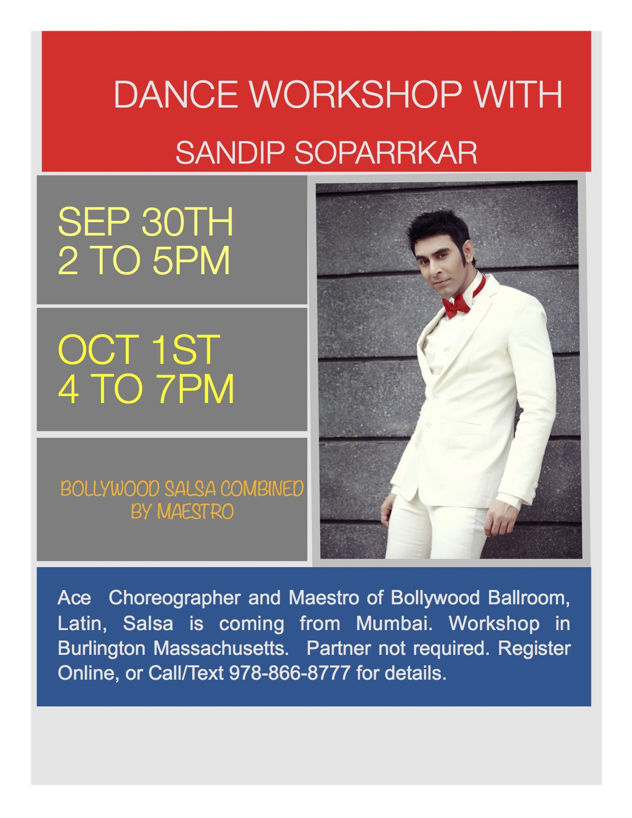 bollywood salsa dance workshop