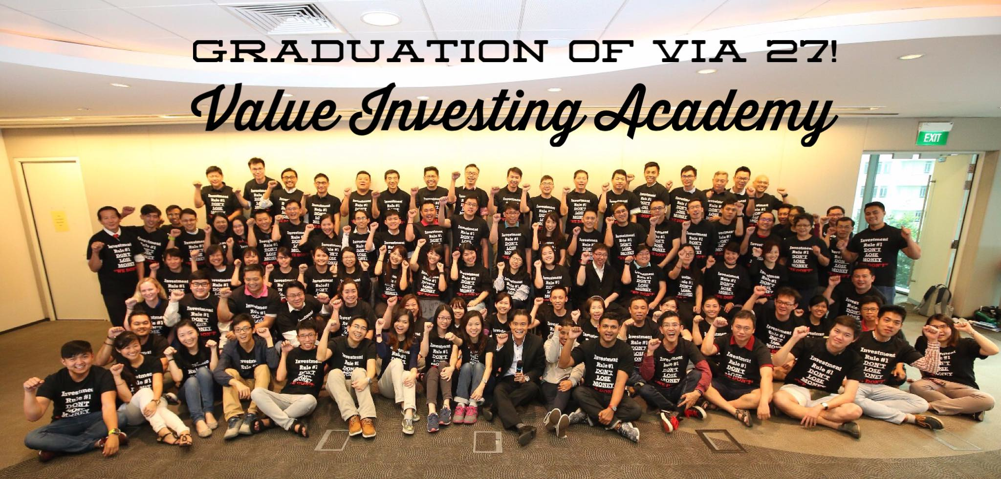 Value Investing 3000 students so far