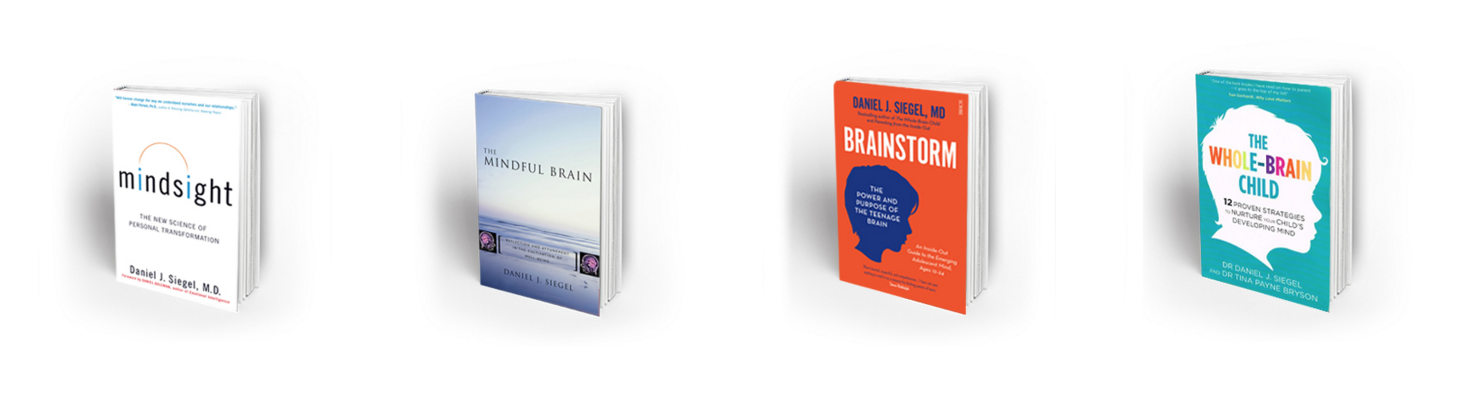 Books by Dan Siegel | Mindsight, The Mindful Brain, Brainstorm, The Whole Brain Child