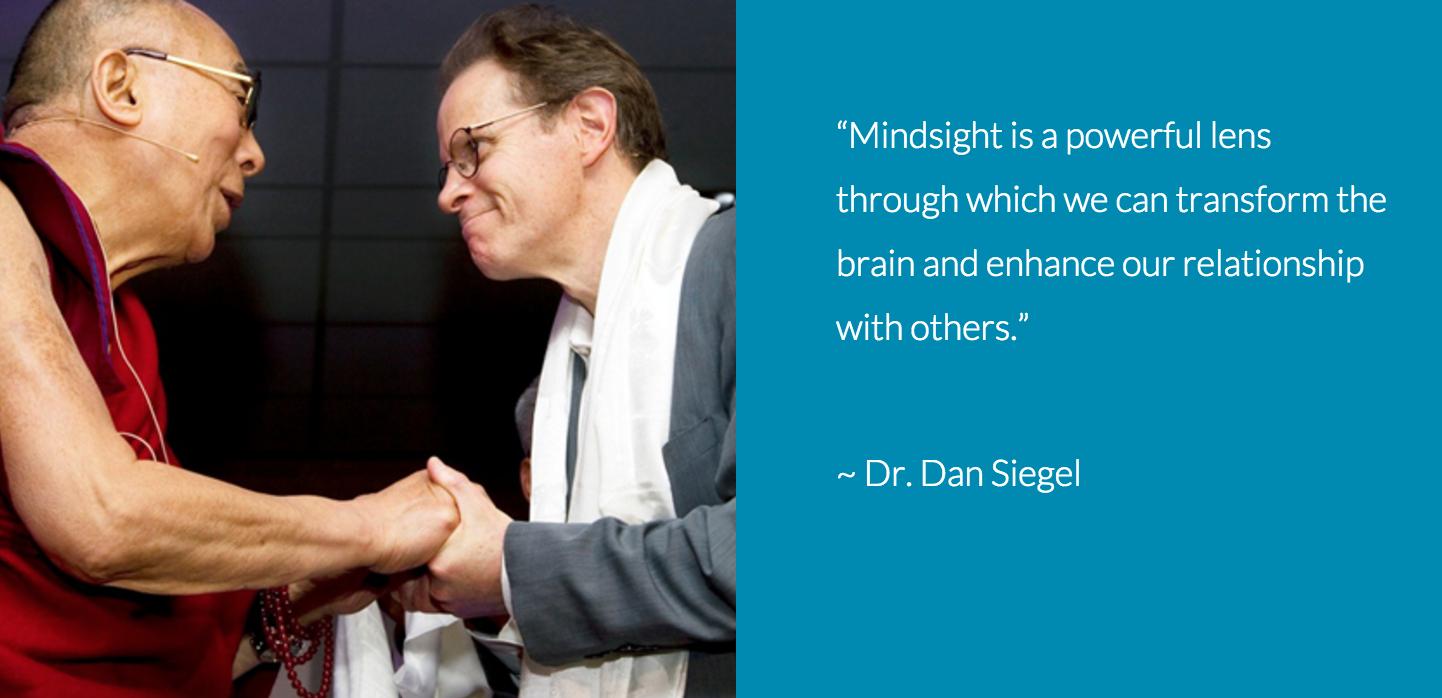 Dan Siegel and the Dalai Lama