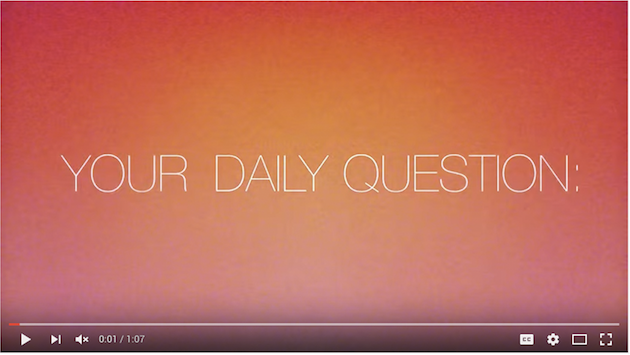 Danielle LaPorte | Daily Questions Video