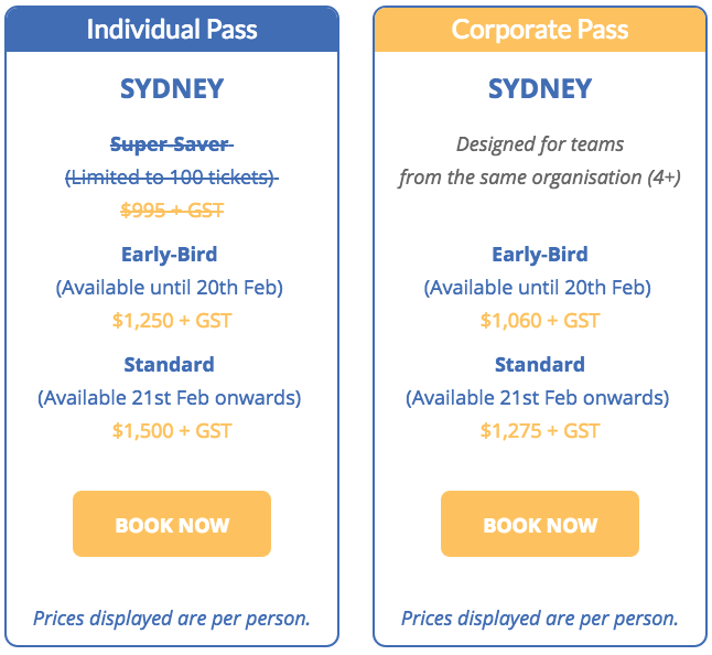 Search Inside Yourself - Sydney Individual Pass