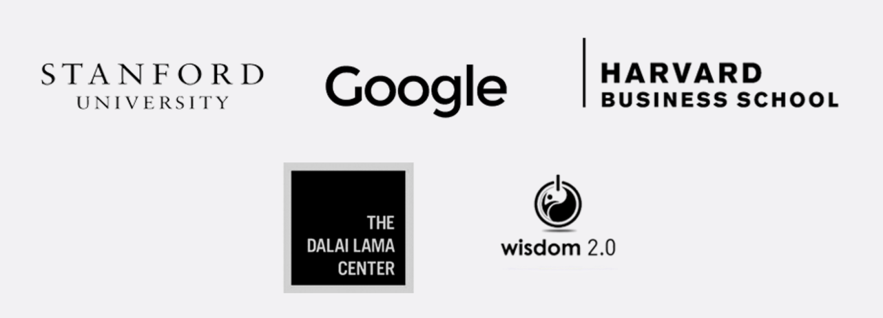 Used By Standford, Google, Harvard Business School, Wisdom 2.0, The Dalai Lama Centre