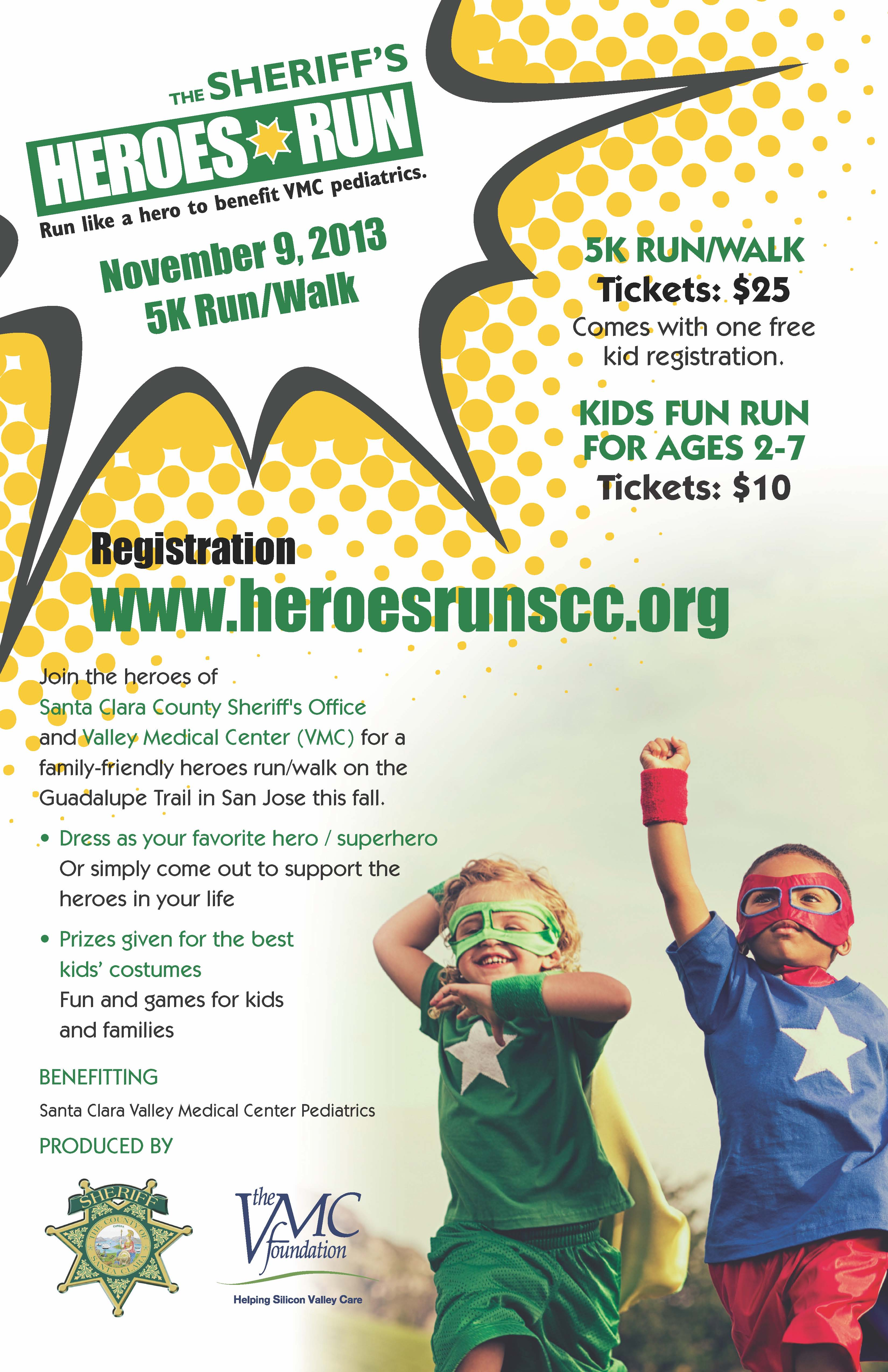 Heroes Run Poster