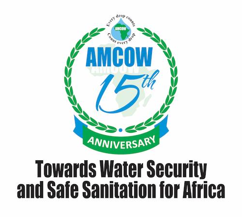 AMCOW @ 15 Anniversary Logo