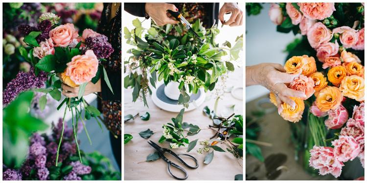floral design workshop with flirty fleurs in seattle washington