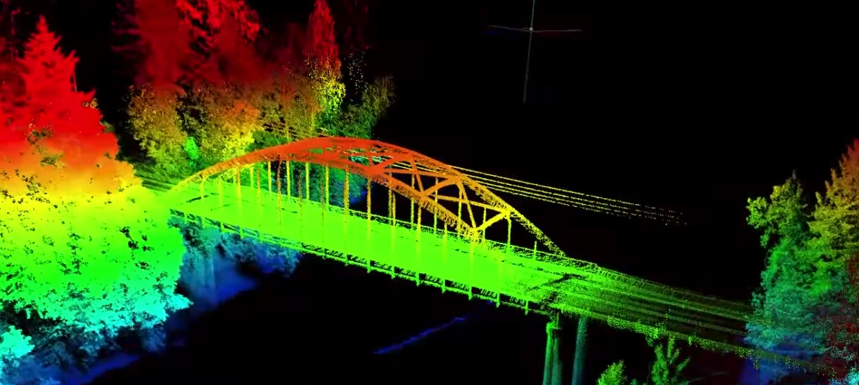 acquisition lidar par drone