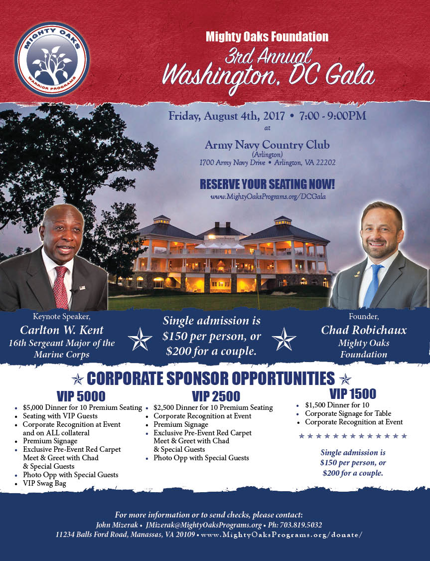 2017 DC Gala Flyer