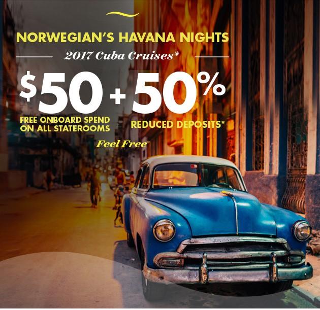 Norwegian Cruise to Cuba!