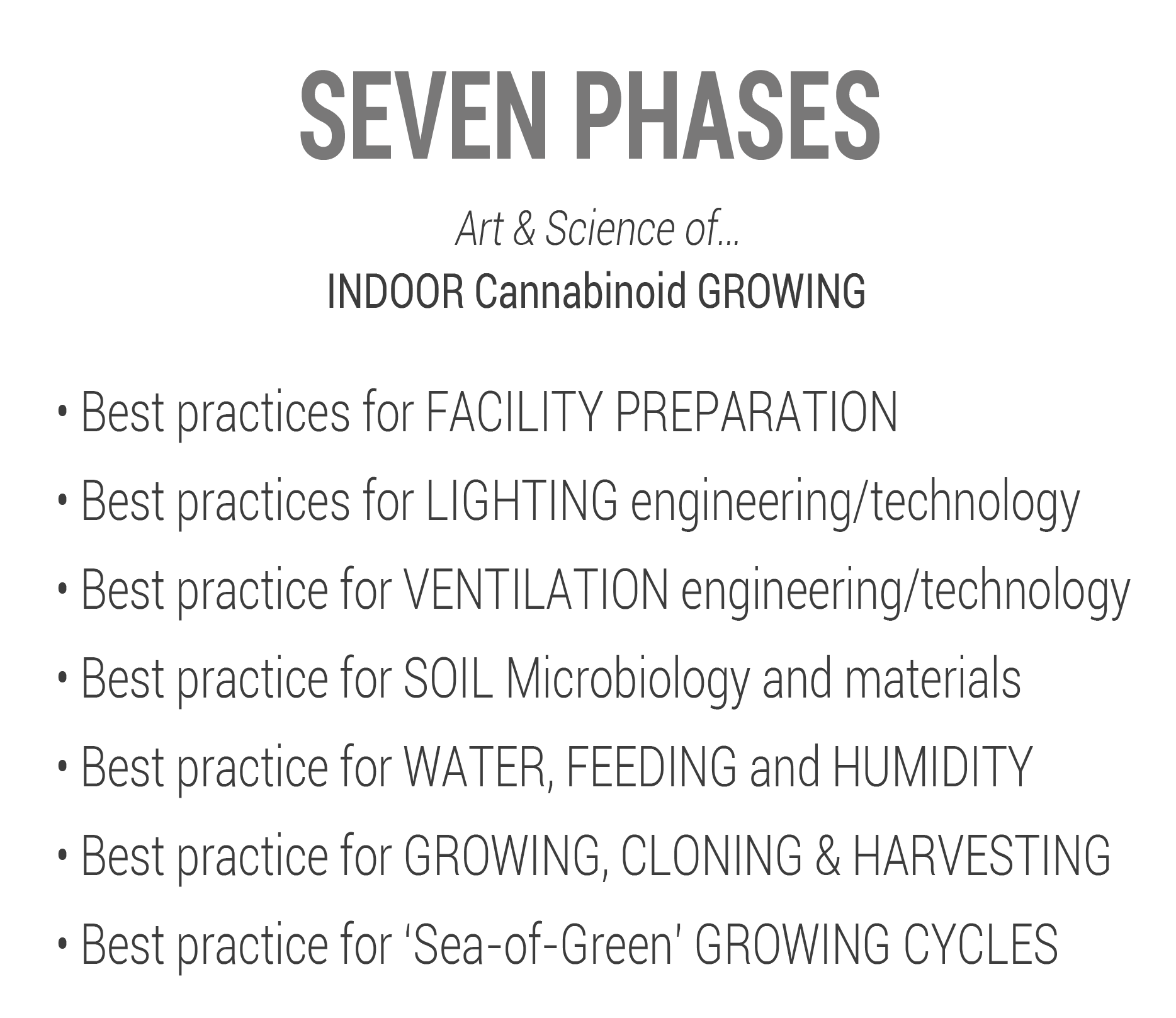 CHAR SEVEN PHASES