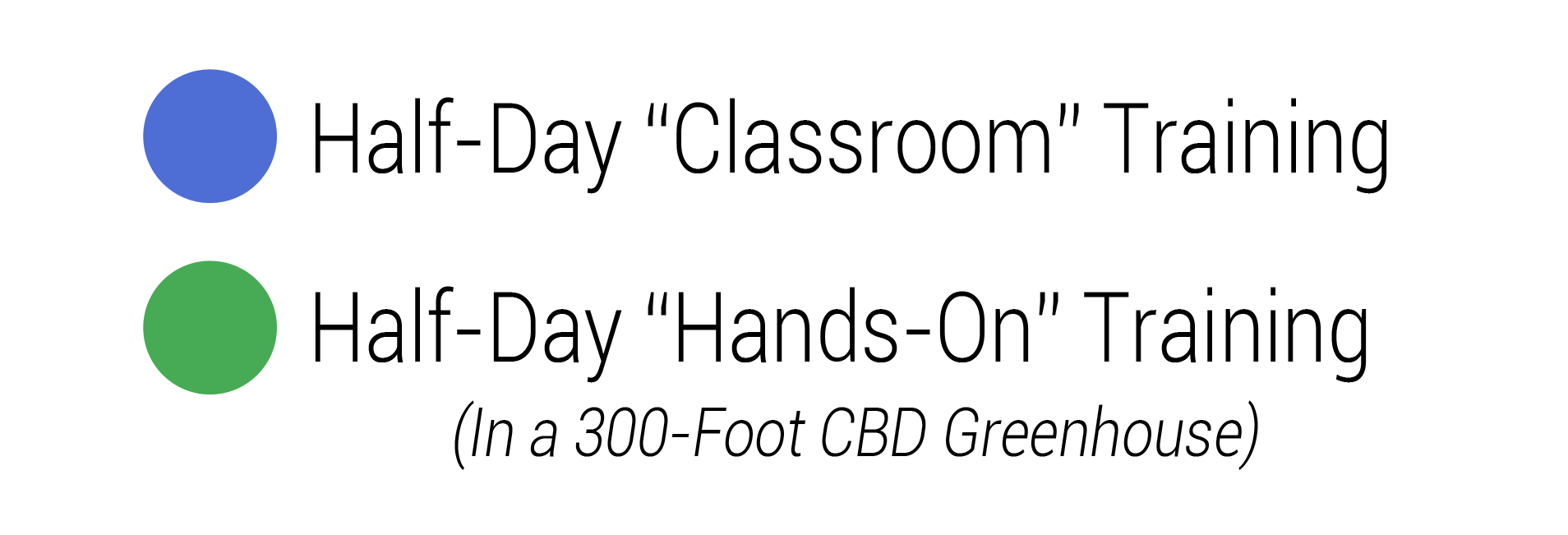 Half Day Classroom
