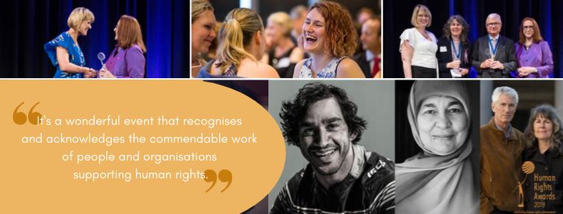 Human Rights Awards 2019 banner