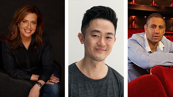 Helen Kapalos, Benjamin Law,and Rob Shehadie