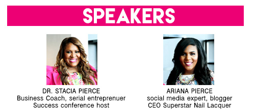 Speakers - Stacia and Ariana Pierce