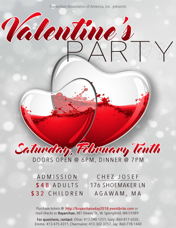 Valentineu0027s Party Poster
