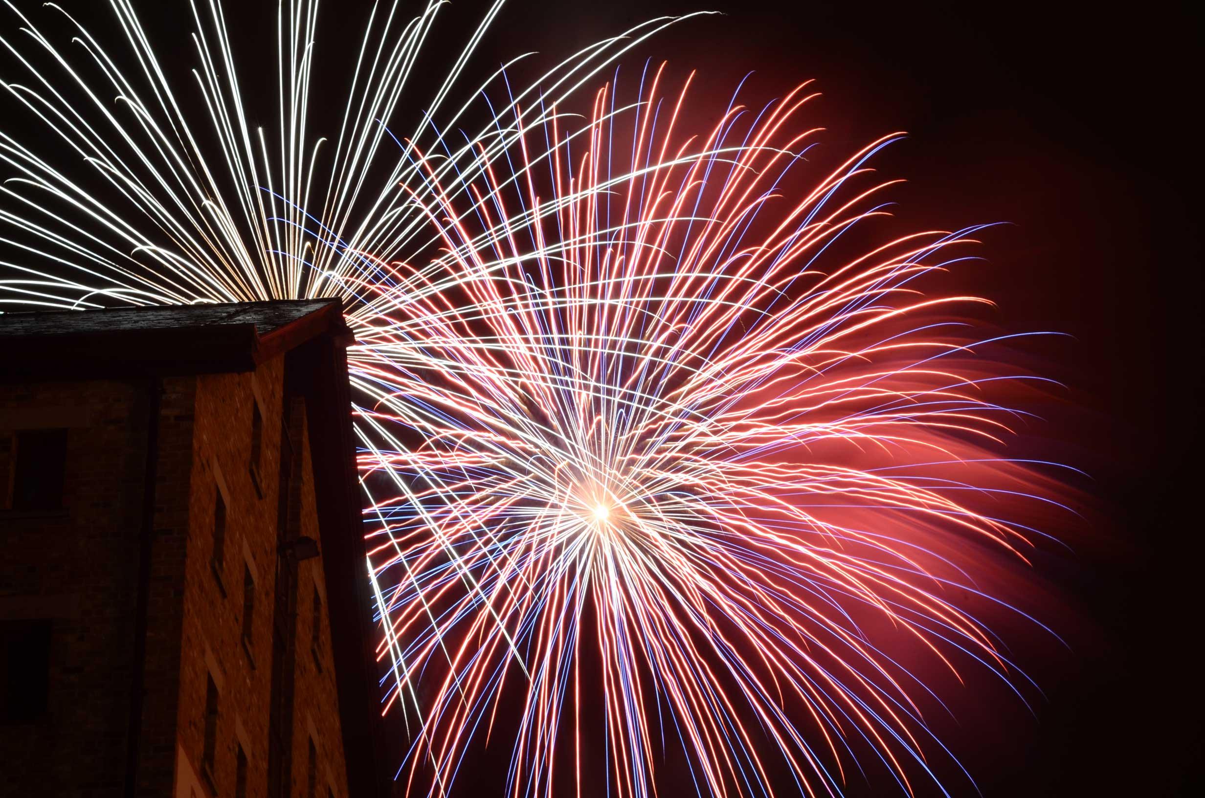 Fireworks at the Docks