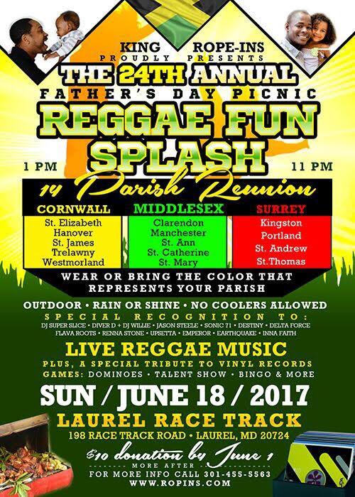 Reggae Fun Splash 2017