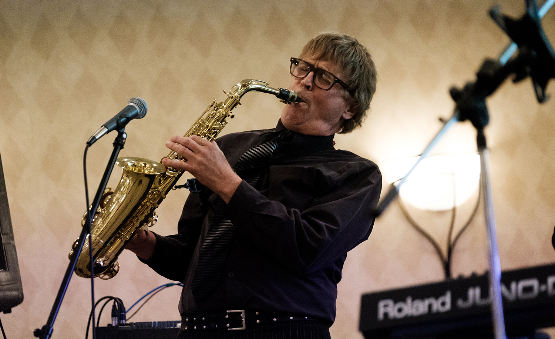 McGiver, saxophone player