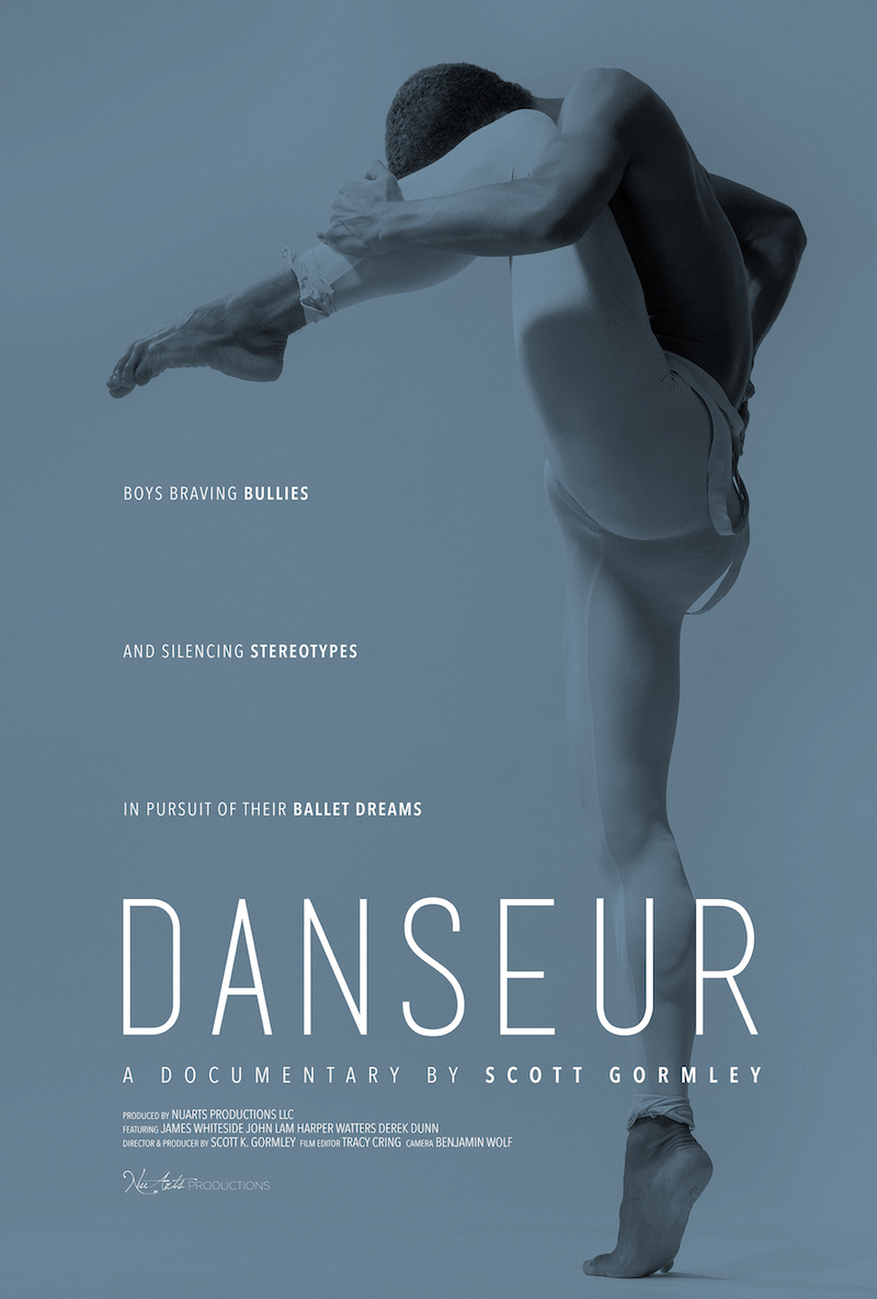 Movie poster for Danseur